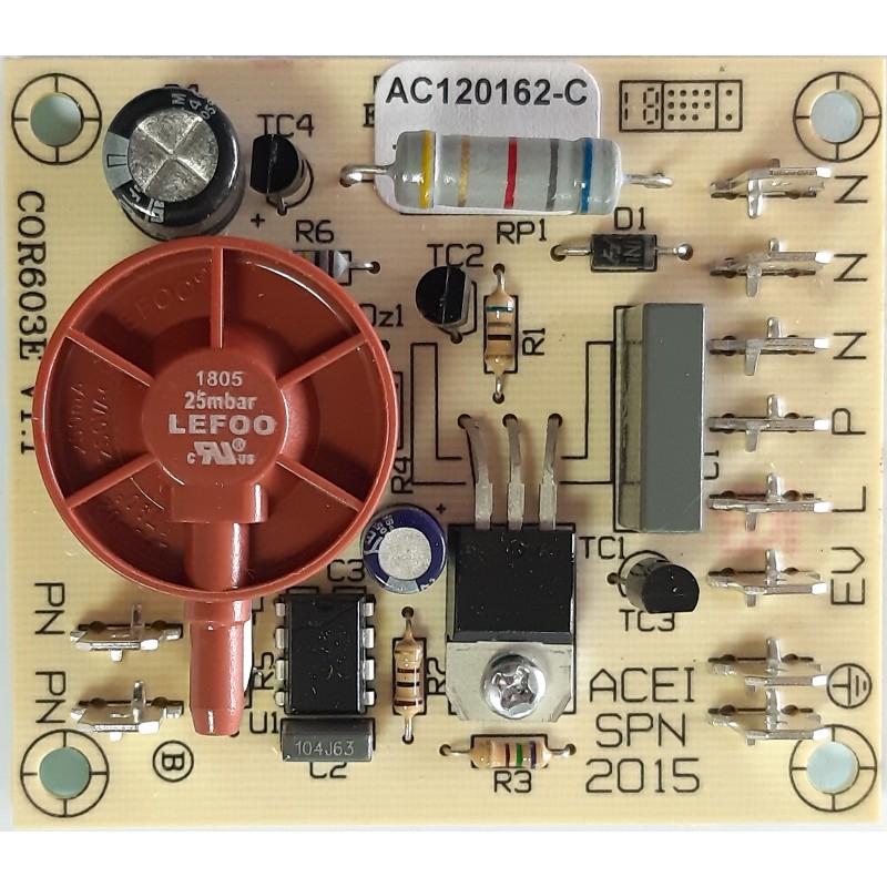 Carte STD bouton poussoir simple